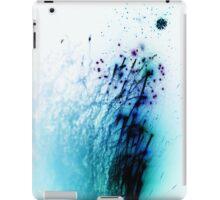 Negative fireworks iPad Case/Skin