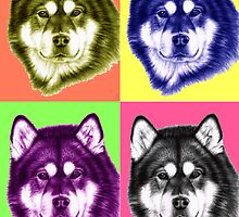 ANIMAL POPART by Nicole Zeug