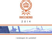 The Riksenergi Calendar 2014 by Simon Stålenhag