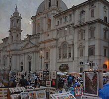 Piazza Navona by rentedochan
