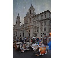 Piazza Navona Photographic Print