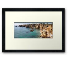 Praia da Dona Ana - Lagos Framed Print