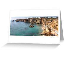 Praia da Dona Ana - Lagos Greeting Card