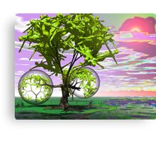 Roots in the sacred Earth  Canvas Print
