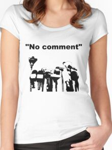 No comment Women's Fitted Scoop T-Shirt