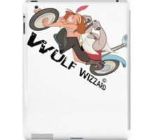 Popping Wheelies, Wulf Wizzard iPad Case/Skin