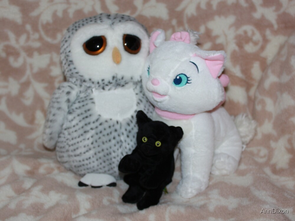 The Owl & the Pussy Cats by AnnDixon