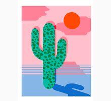 No Foolin - retro throwback neon art design minimal abstract cactus desert palm springs southwest Classic T-Shirt