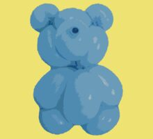 Blue bear by Stefania Patella