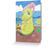 Christmas Croc - Shaun Greeting Card