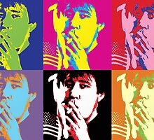 Bill Hicks - Pop Art Bill by FreakMonkey