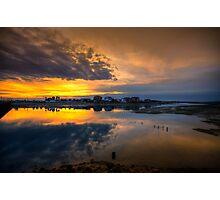 Ilha da Faro Sunset Photographic Print