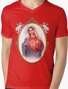 Holy queen Mens V-Neck T-Shirt
