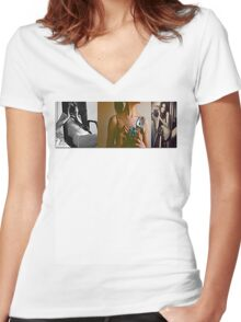 PhotograpHERS #1 Women's Fitted V-Neck T-Shirt