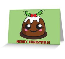 Pudding Greeting Card