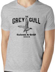 The Grey Gull Mens V-Neck T-Shirt