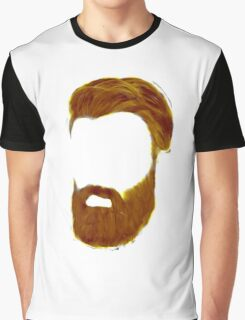 Fill in the Beards Graphic T-Shirt