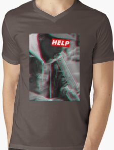 W.I.Z.A.N.G Mens V-Neck T-Shirt