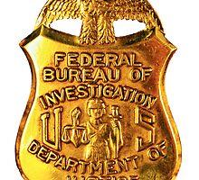 FBI badge by boogeyman