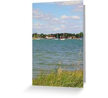 Looking out from Hayling Island Greeting Card