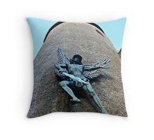 St Michael in Lewes Throw Pillow