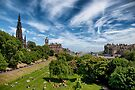 Lazing on a Sunny Afternoon in Edinburgh by Kasia-D