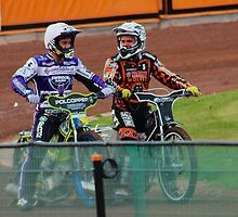Speedway Troy and Tai by ejrphotography