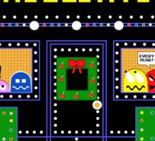 Arcade Holiday Sticker