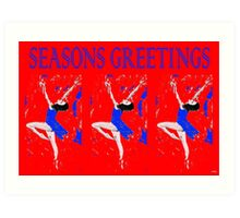 SEASONS GREETINGS 94 Art Print
