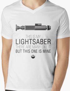 Jedi Full Metal Jacket Mashup Mens V-Neck T-Shirt