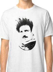 Postmodern Tesla Black Classic T-Shirt