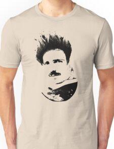 Postmodern Tesla Black Unisex T-Shirt