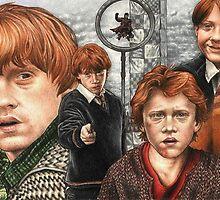 Ronald Bilius Weasley  by trentccurtis