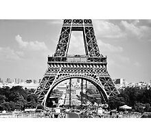 Eiffel Tower 8 Photographic Print