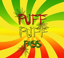 Puff Puff Pass by FreeYourArt