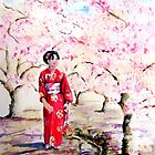 Cherry Blossom in Kyoto  by Sunflower3