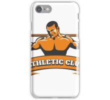 Athletic or Powerlifting Club Emblem iPhone Case/Skin