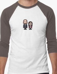 Ichabod Crane and Abbie Mills shirt Men's Baseball ¾ T-Shirt