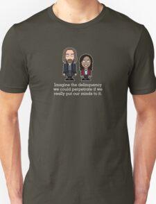 Ichabod Crane and Abbie Mills shirt Unisex T-Shirt