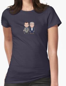 Mycroft and Lestrade mini people (shirt) T-Shirt