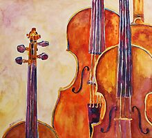 Four Violins by JennyArmitage