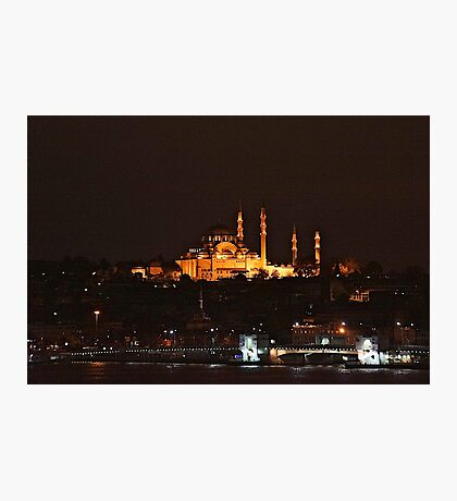 Istanbul At dawn Photographic Print