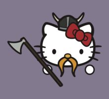 Hello Viking Kitty by Isaac Simmons