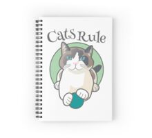 Cats Rule Spiral Notebook