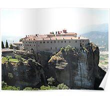 Meteora In Greece 9 Poster