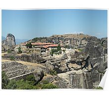 Meteora In Greece 12 Poster