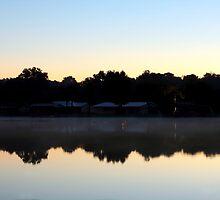 St. Johns River Sunrise by Carol Bailey White