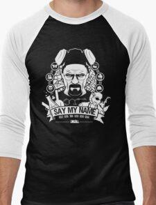 Say My Name Men's Baseball ¾ T-Shirt