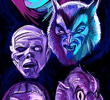 The Monster Squad by ibtrav