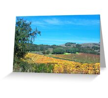 Winescapes of California Part II Greeting Card